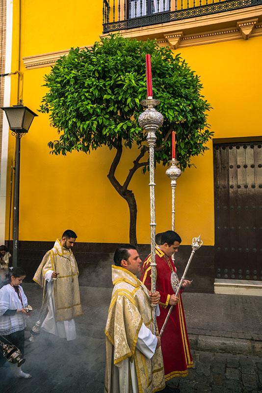 Seville religious procession