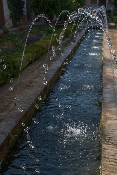 Alhambra Fountain Drops