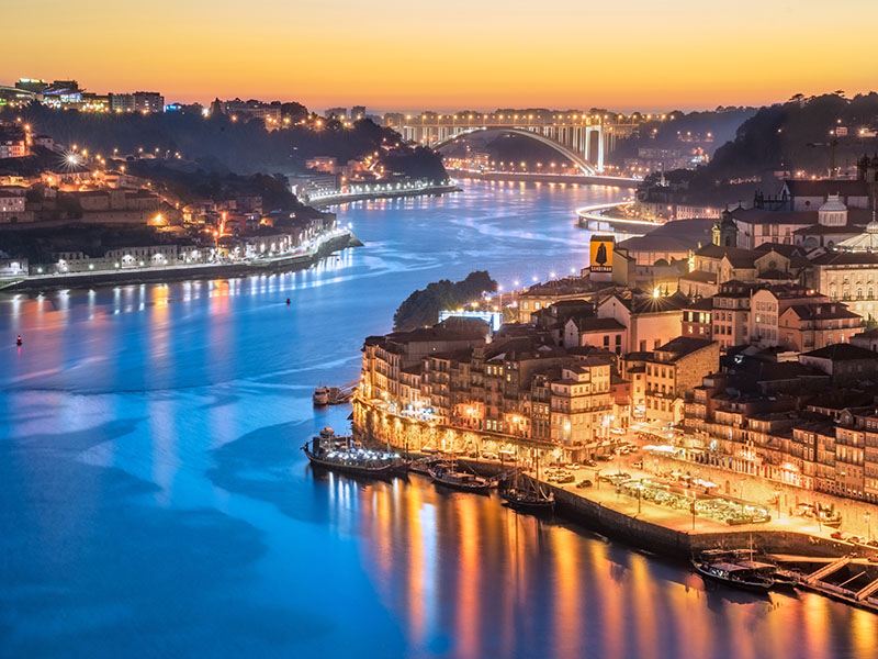 Porto Douro River View