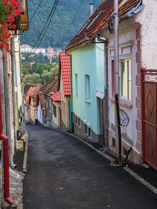 Brasov Narrow Street