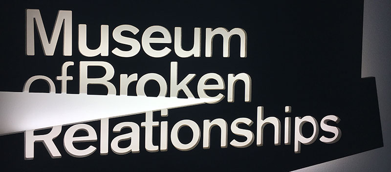Zagreb Museum Broken Relationships