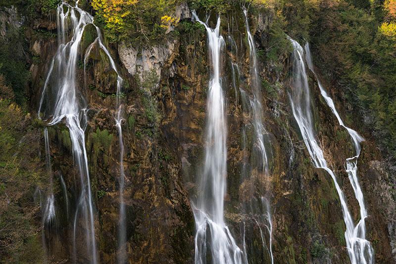Plitvice Ribbon Falls