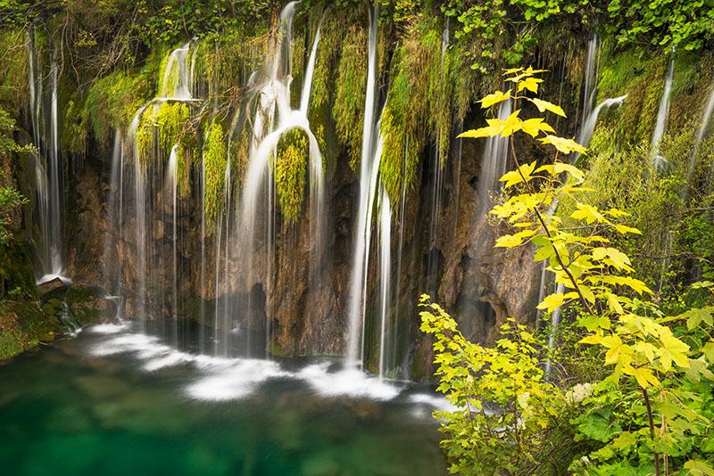 Plitvice Verdent Falls