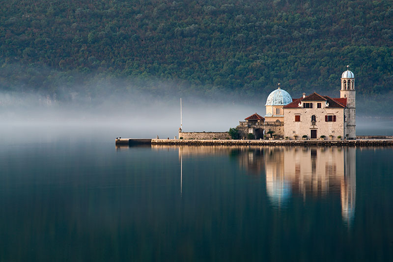 Our Lady of the Rock church, Perast Montenegro