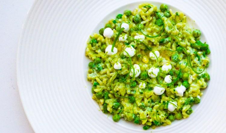Groene risotto