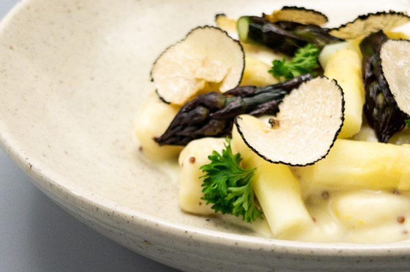 Gnocchi met asperges en kaassaus