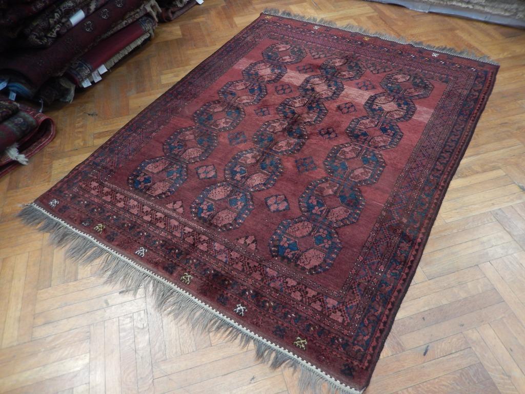 Fine Perfect Gift Hand Woven Rug 6x8 Turkoman Bokhara