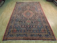 MOST DURABLE Persian Rug 7' x 11' Semi-Antique Bijar Hand ...