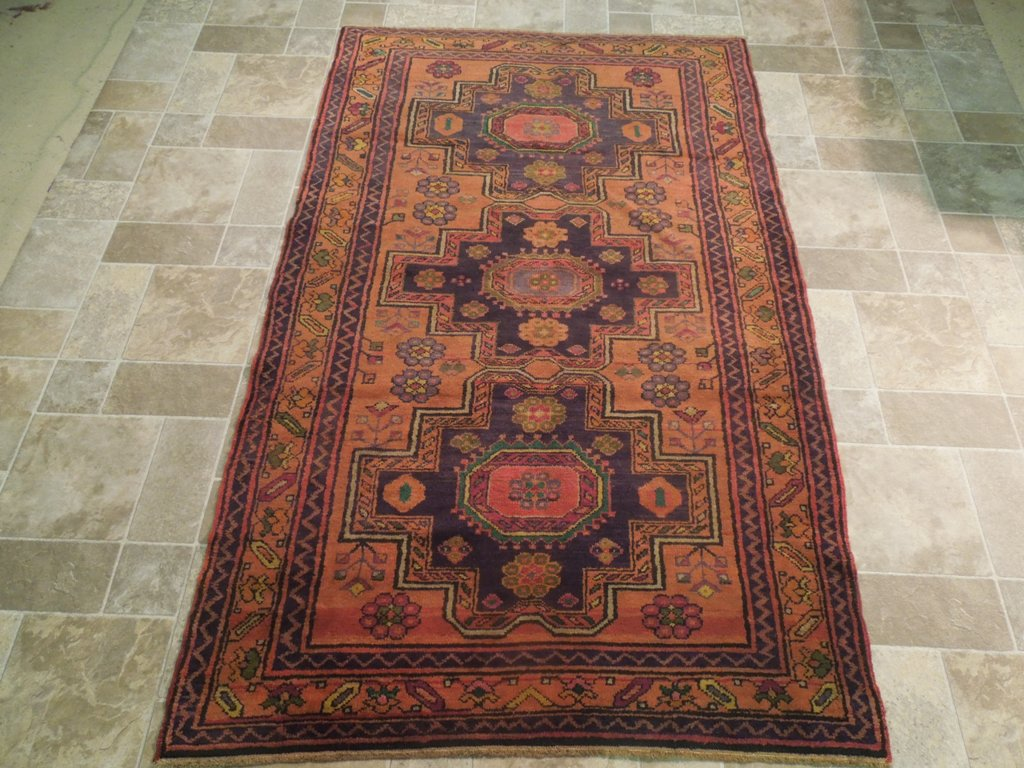 Gold Traditional Handmade Rug 5 x 7 Area Rugs Sevan Wool Carpet  eBay