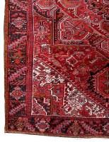 10' x 13' Persian Heriz Real Durable Wool living room rugs