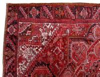 10' x 13' Persian Heriz Real Durable Wool living room rugs ...