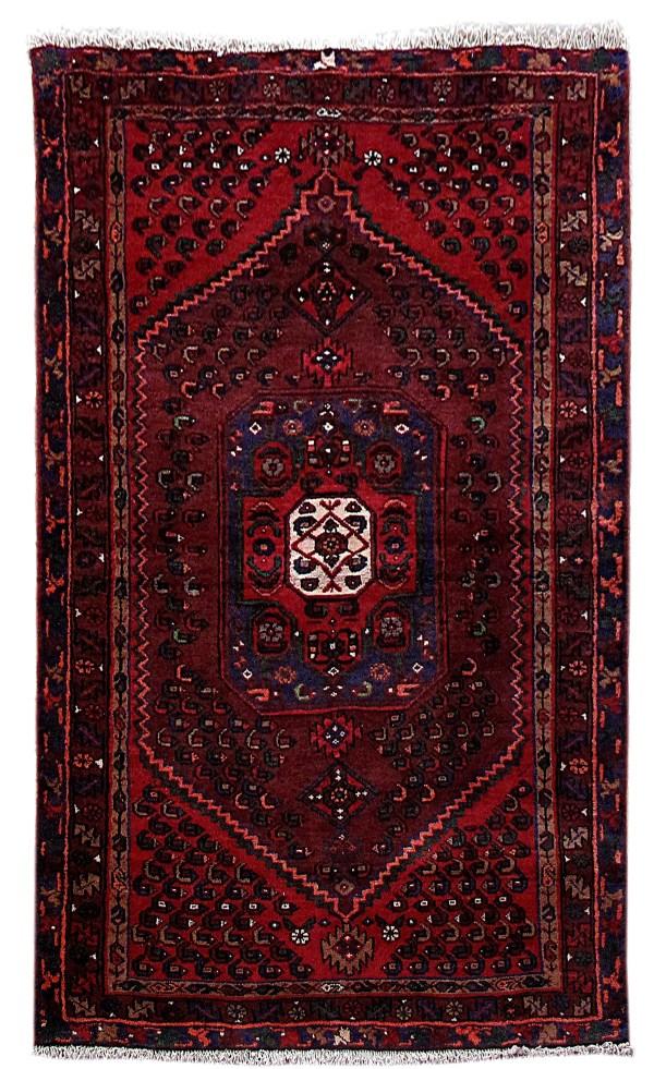 Rugs Handmade Rug 4' X 7' Persian Kurd Bijar