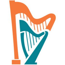 harp sheet music harp