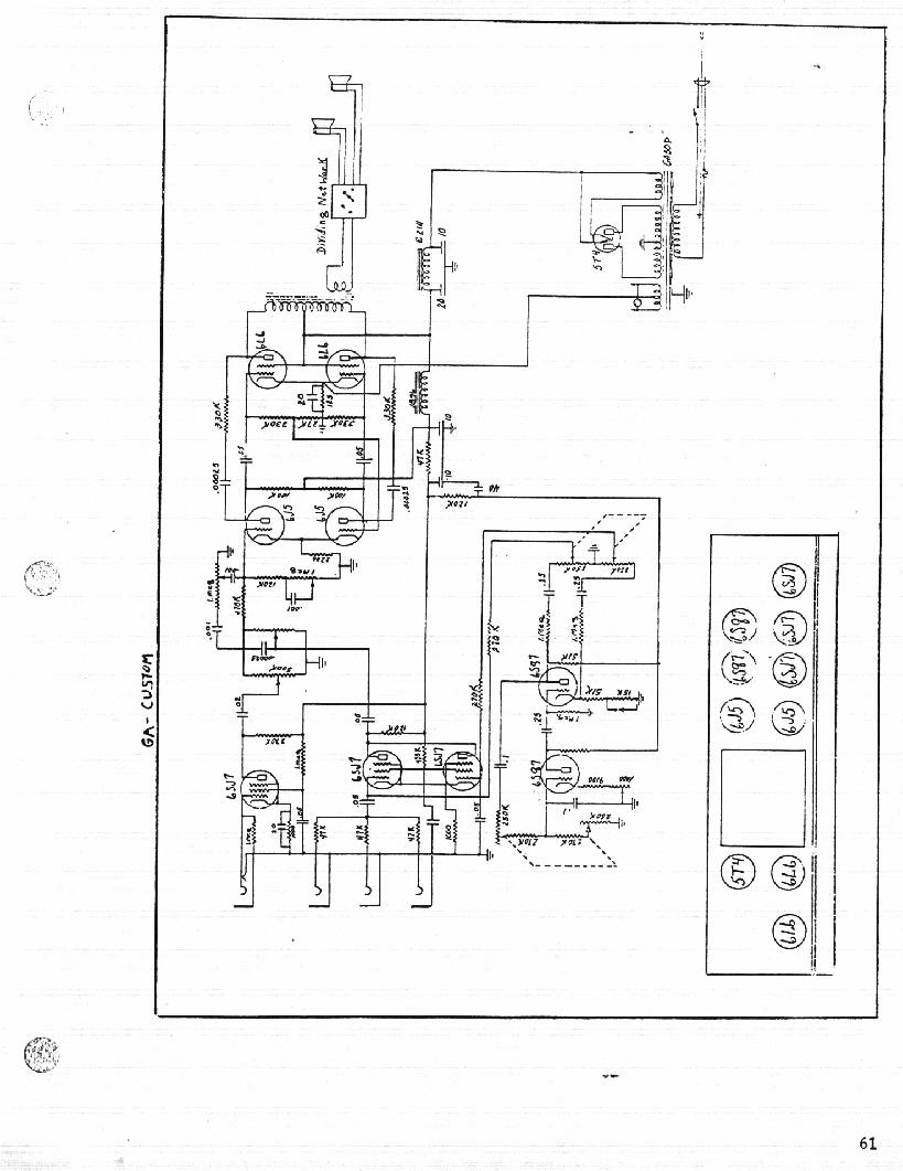 Guyatone Amp Schematics Bad Cat Schematic ~ Elsavadorla