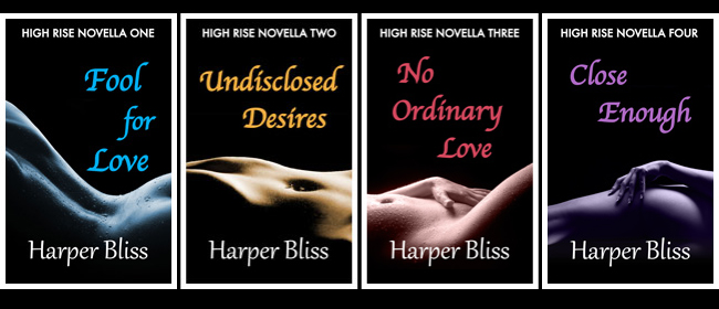 All four High Rise Novellas