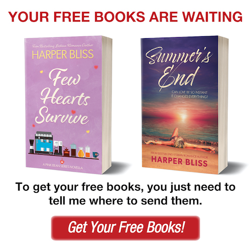 Get your free Harper Bliss Books!