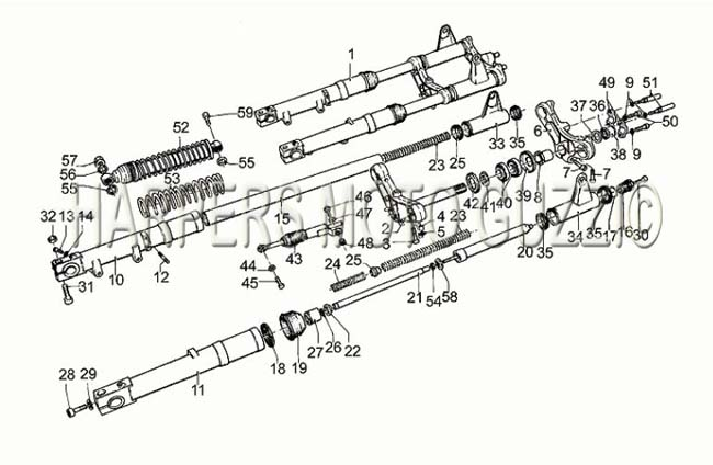 Parts Lookup :: Pre 1980 Moto Guzzi's :: SP 1000 79-83