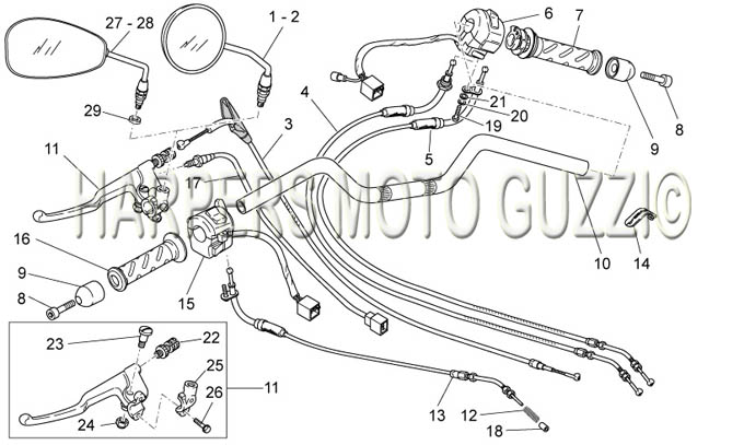 Parts Lookup :: 2000-2009 Moto Guzzi's :: Breva IE 750