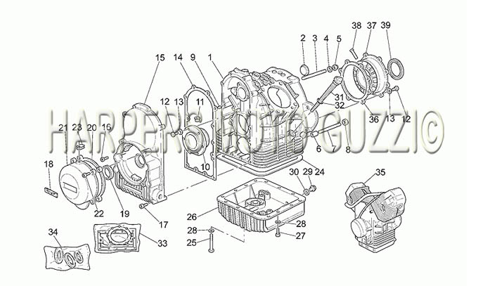 Parts Lookup :: 2000-2009 Moto Guzzi's :: California