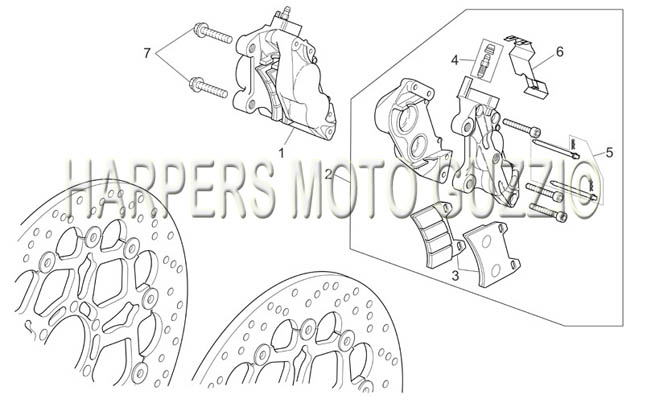 Parts Lookup :: 2000-2009 Moto Guzzi's :: Norge 1200 IE