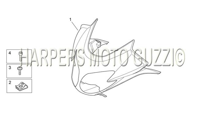 Parts Lookup :: 2010 and up Moto Guzzi's :: NORGE 1200 IE
