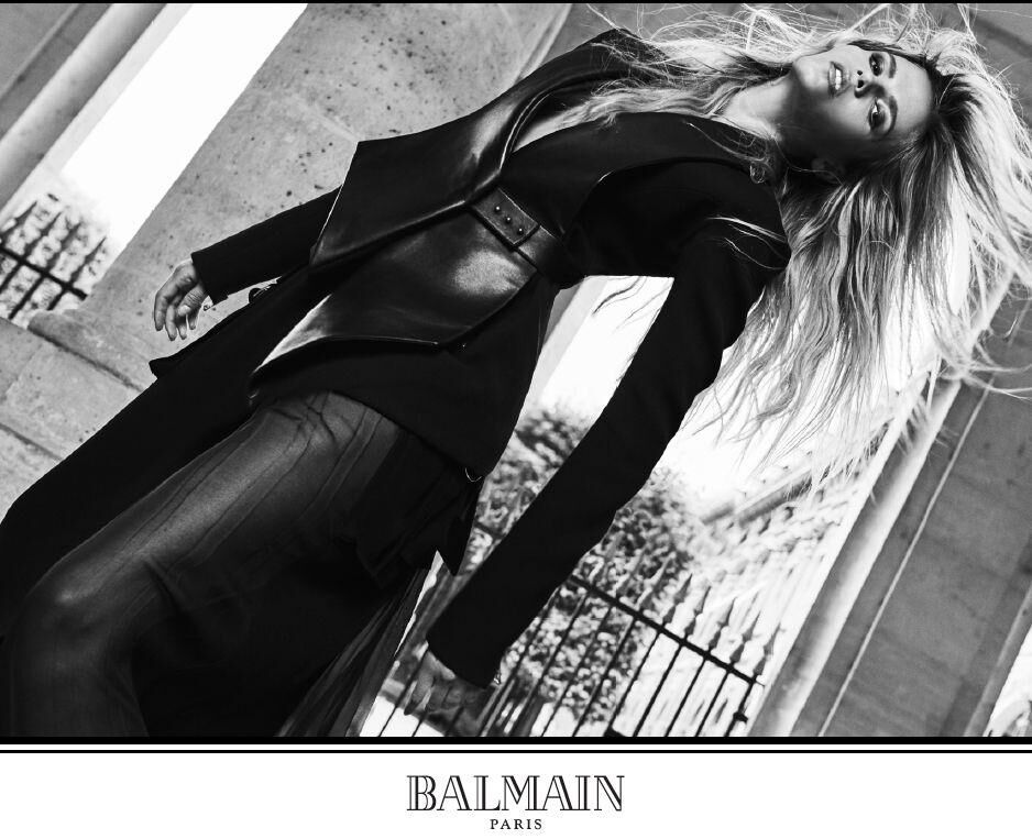 Welcome to my official instagram ! Olivier Rousteing Shoots His First Balmain Campaign