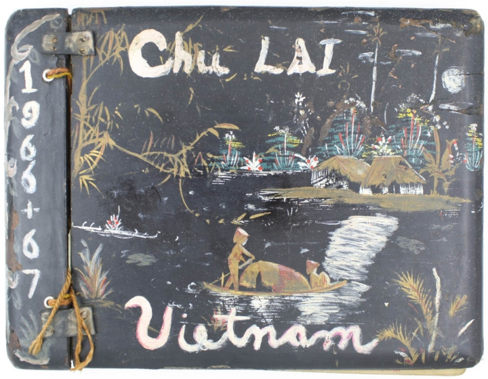 Chu Lai Vietnam Photo Album  Original Photographic Album