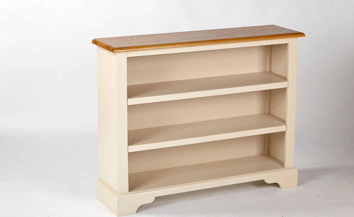 Country House Low Wide Bookcase