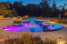 Custom in-ground Swimming Pool