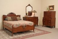 SOLD - French Style 1940's Vintage Joerns 4 Pc. Full Size ...