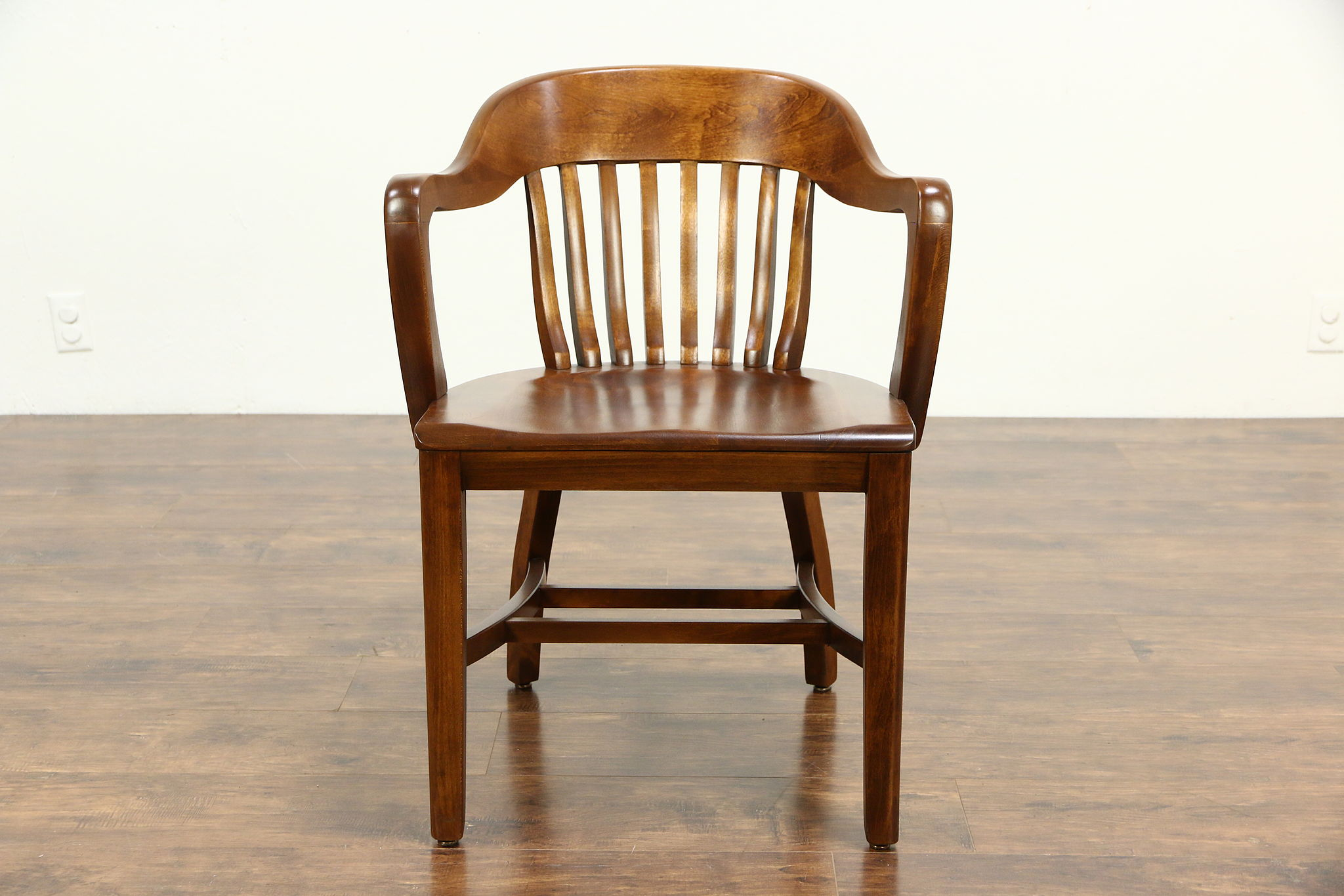 bedroom chair on ebay most comfortable chairs sold - desk, office or library with arms, 1940 vintage harp gallery