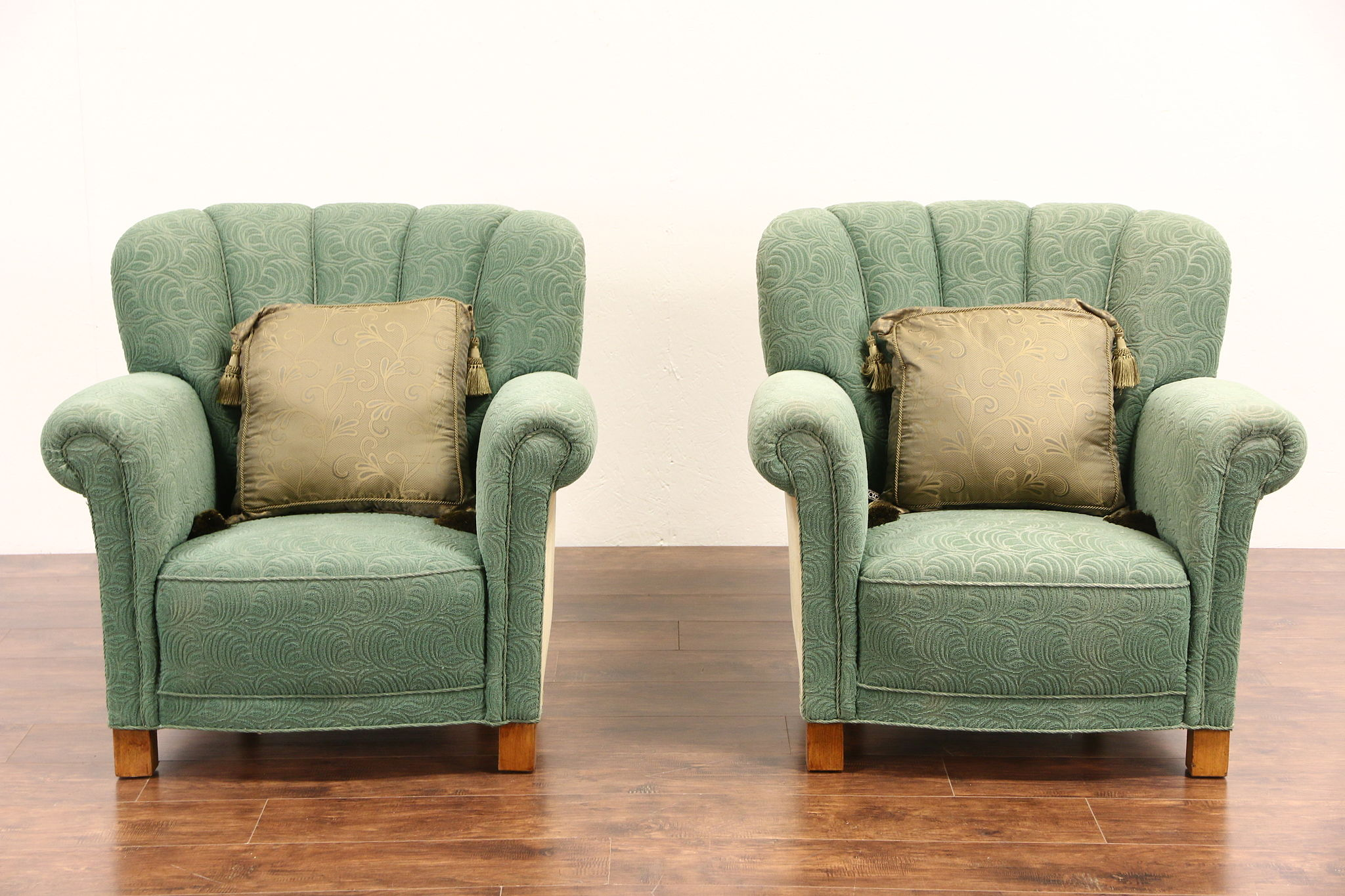 vintage arm chair kids tables and chairs sold pair of scandinavian 1940 all original harp gallery