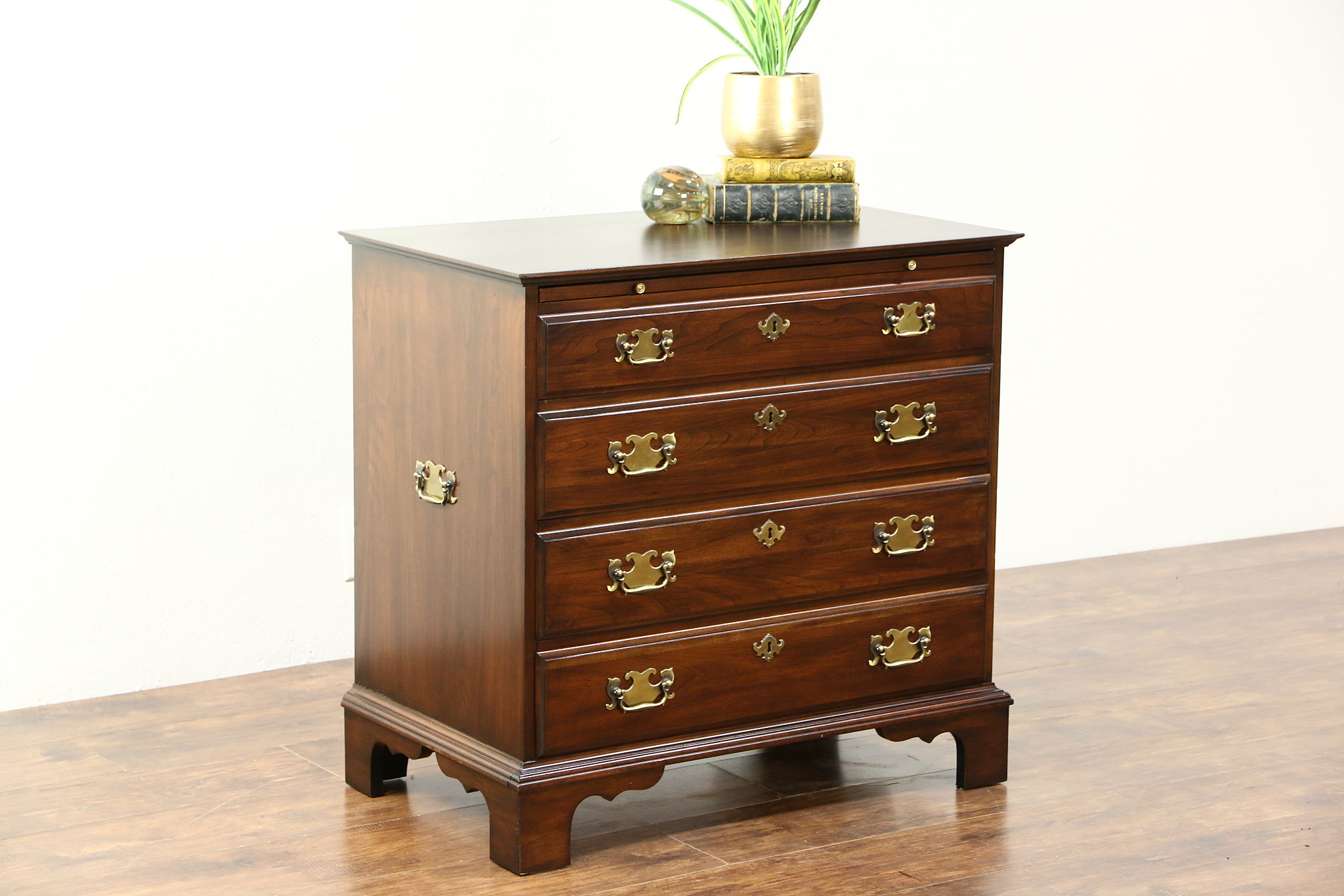 SOLD  Cherry Vintage Chest or Small Dresser Pull Out