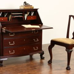 Small Sofa End Tables Esstisch Kaufen Sold - Georgian 1910 Antique Mahogany Secretary Desk ...
