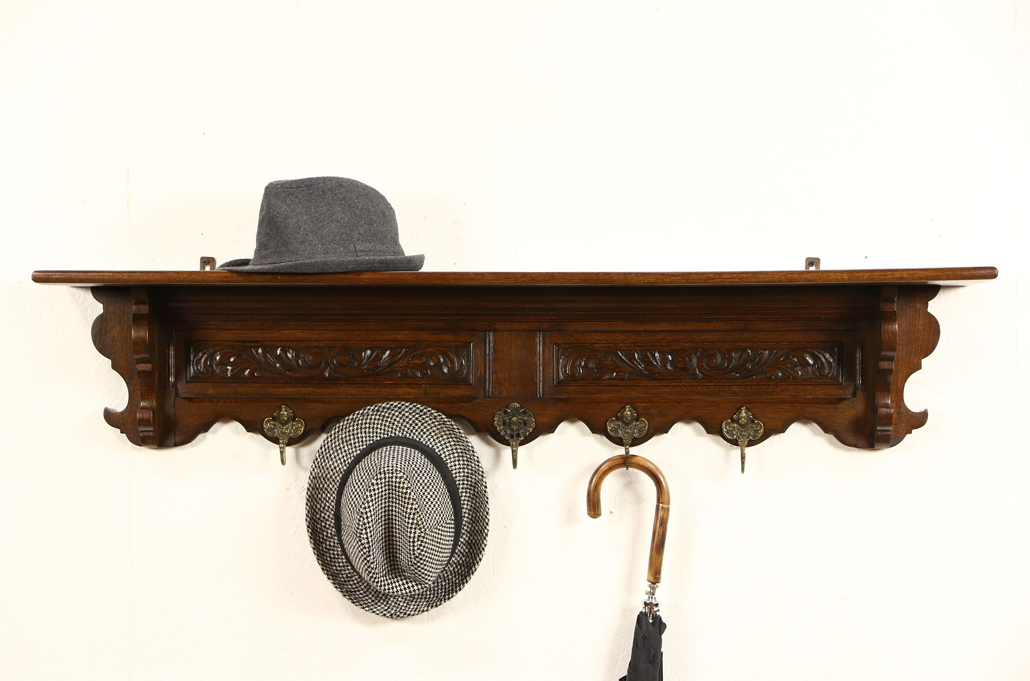 SOLD Dutch Oak 1900 Antique Hat Or Coat Rack Amp Hall