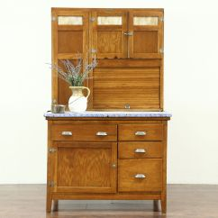Wilson Kitchen Cabinet Hoosier Island Table With Chairs Sold Oak Antique Pantry Cupboard