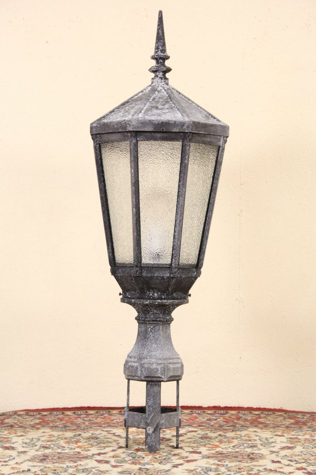 SOLD  New York City Salvage 1920s Antique Street Light