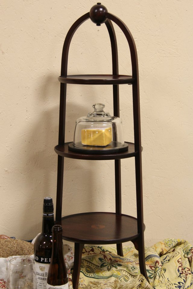 chair side book stand office ergonomic sold muffineer or 1930 s chairside table signed orinoco harp gallery