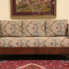 Stickley Sleeper Sofa Contemporary Purple Leather Arts And Crafts Antique Pullman