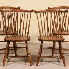 Henredon Asian Dining Chairs Simple Wood Patio Chair Plans Sold - Set Of 4 Pennsylvania House Vintage Cherry Harp Gallery Antique Furniture