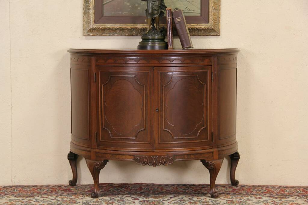 Cherry Antique Console French