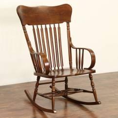 Midcentury Rocking Chair Chinese Wedding Sold - Chair, 1900 Antique Elm & Oak Large Rocker Harp Gallery Furniture