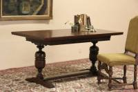 SOLD - Renaissance Oak 1920's Swedish Writing Desk or ...