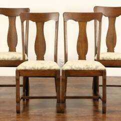 Antique Oak Dining Chairs Coleman Oversized Quad Chair Set Of 4 1900 Or Game Table New