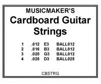 Cardboard Guitar: Musicmakers