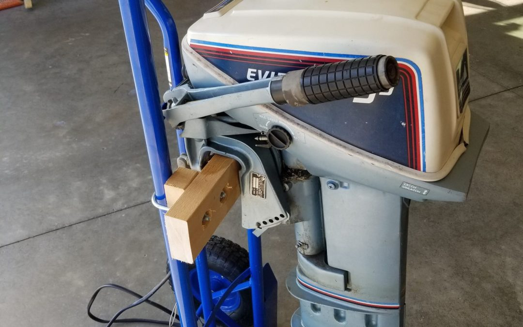 $40 Outboard Cart