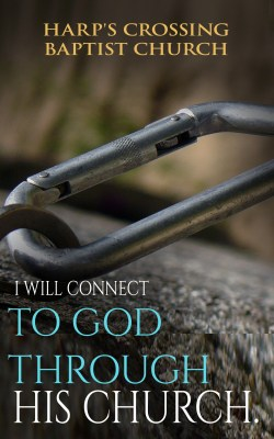 New Devotional Guides - I Will Connect To God Through His Church