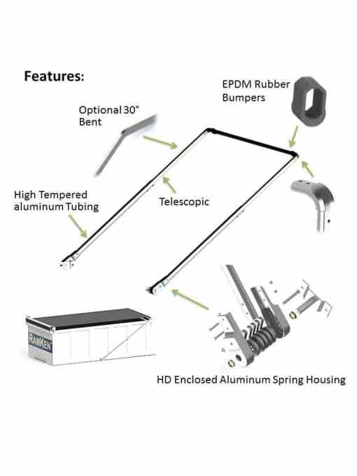 ALUMINUM ARM SYSTEM FOR BODIES UP TO 30' -351