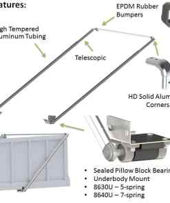 ALUMINUM ARM SYSTEM FOR BODIES UP TO 40' -567