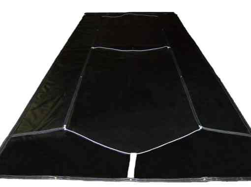 Asphalt Tarp with Side Flaps - For hauling asphalt-653